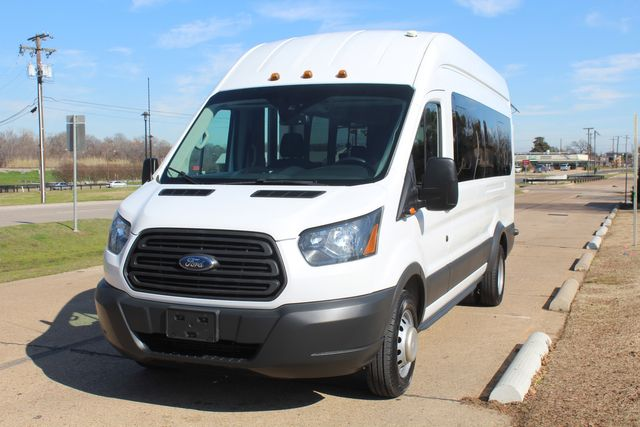 2015 Ford T350 High Roof 13 Passenger Extended Transit Wagon Irving, Texas 4