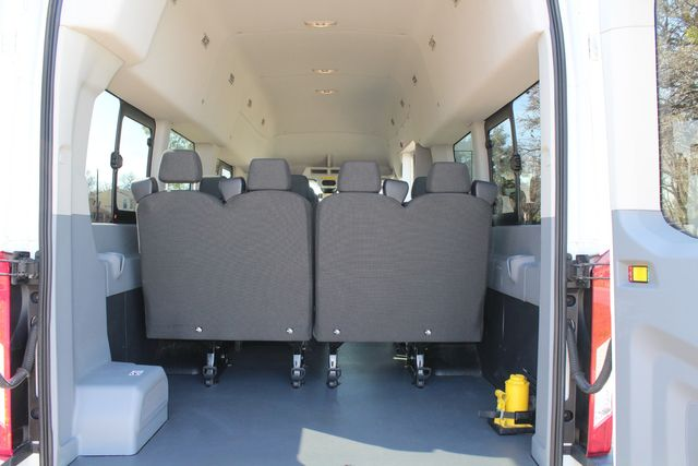 2015 Ford T350 High Roof 13 Passenger Extended Transit Wagon Irving, Texas 41