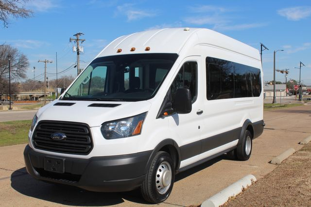 2015 Ford T350 High Roof 13 Passenger Extended Transit Wagon Irving, Texas 5