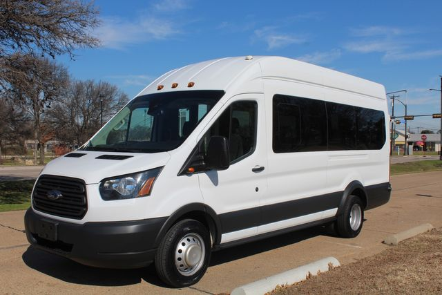 2015 Ford T350 High Roof 13 Passenger Extended Transit Wagon Irving, Texas 6