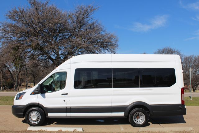 2015 Ford T350 High Roof 13 Passenger Extended Transit Wagon Irving, Texas 7