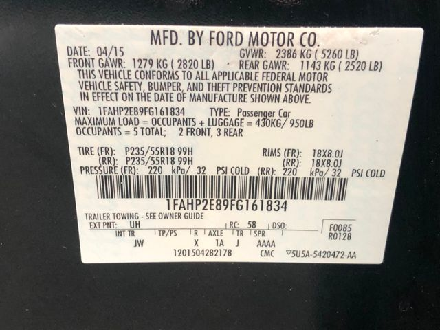 2015 Ford Taurus SEL Maple Grove, Minnesota 33