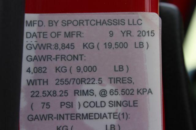 2015 Freightliner M2 106 SportChassis RHA 114 Luxury Ranch Hauler CONROE, TX 57
