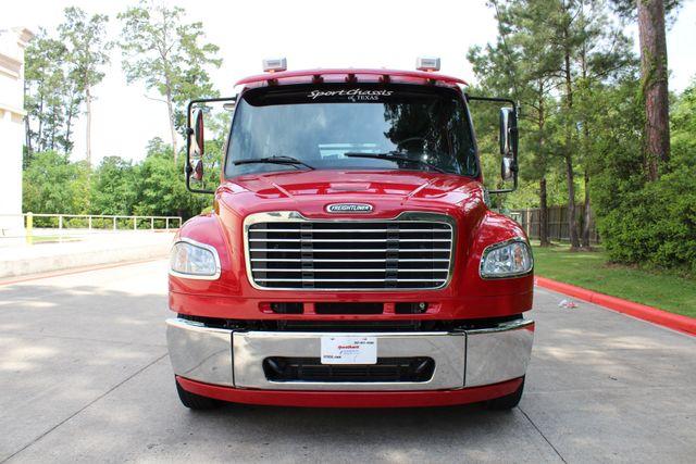 2015 Freightliner M2 106 SportChassis RHA 114 Luxury Ranch Hauler CONROE, TX 4