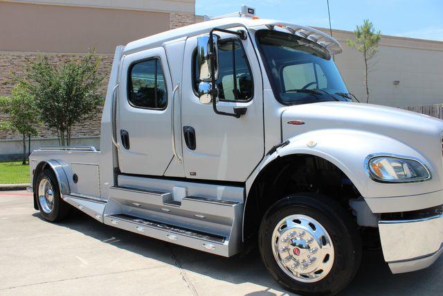 2015 Freightliner M2 106 SPORTCHASSIS RHA LUXURY HAULER TRUCK CONROE, TX 1