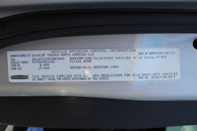 2015 Freightliner M2 106 SPORTCHASSIS RHA LUXURY HAULER TRUCK CONROE, TX 42