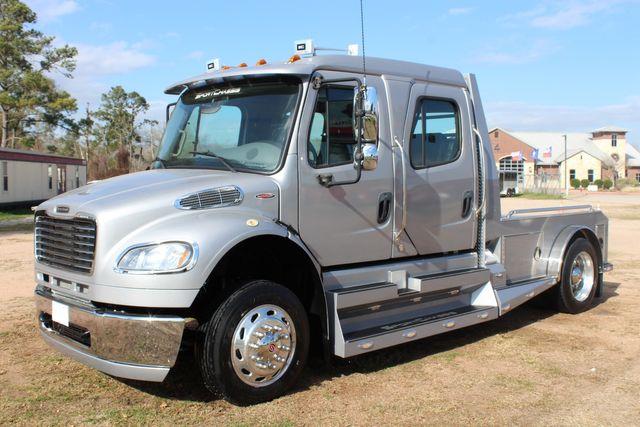 2015 Freightliner M2 106 SPORTCHASSIS RHA Luxury Ranch Diesel Hauler CONROE, TX 8