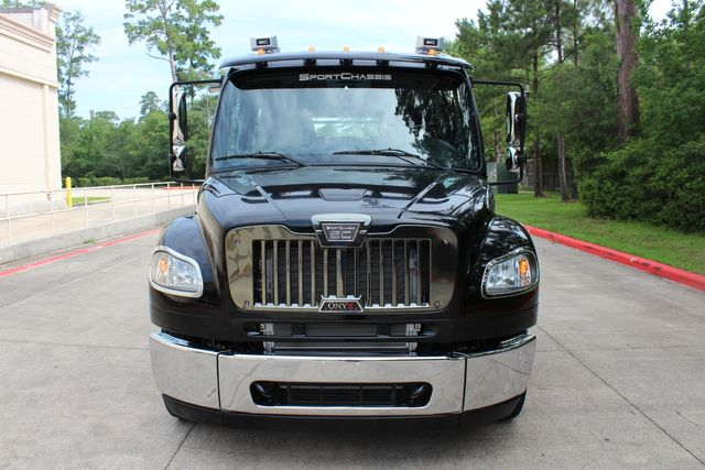 2016 Freightliner M2 106 Sport SportChassis RHA ONYX Luxury Hauler Truck NEW DEMO CONROE, TX 3
