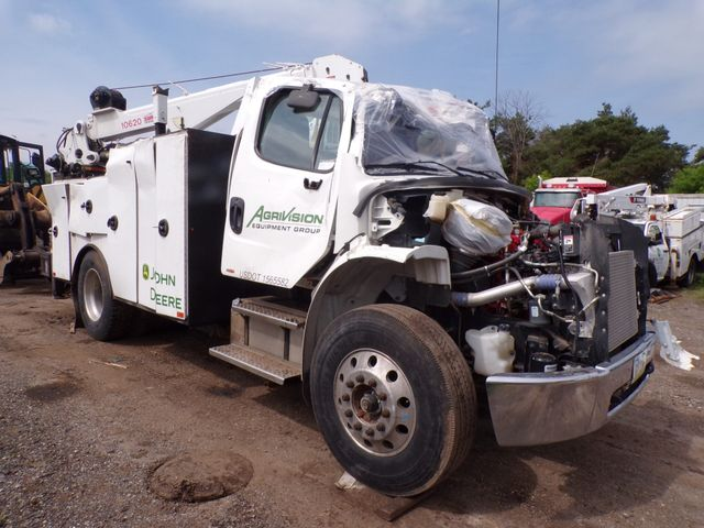 2015 Freightliner M2 Crane Service Utility Mechanics Truck Low Miles Cummins Auto Most Parts To Fix Included