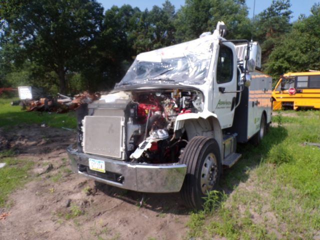 2015 Freightliner M2 Crane Service Utility Mechanics Truck Low Miles Cummins Auto Most Parts To Fix Included in Ravenna, MI 49451