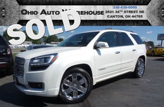 2015 GMC Acadia Denali AWD Navi Roof 1-Own Cln Carfax We Finance | Canton, Ohio | Ohio Auto Warehouse LLC in  Ohio