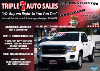2015 GMC Canyon 2WD SL in Atascadero CA, 93422