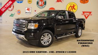 2015 GMC Canyon SLT 4X4 NAV,BACK-UP CAM,HTD LTH,19K,WE FINANCE in Carrollton, TX 75006