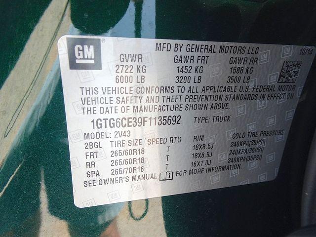 2015 GMC Canyon 4WD SLT Madison, NC 50