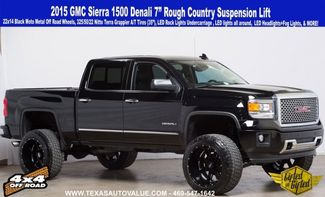 """2015 GMC Sierra 1500 Denali - Lifted & Gifted 7"""" RC Lift - MUCH MORE in Dallas, TX 75001"""