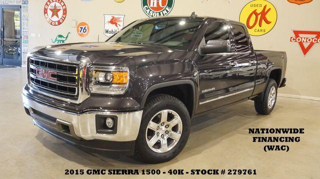 2015 GMC Sierra 1500 SLT 4X2 BACK-UP CAM,HTD LTH,40K,WE FINANCE in Carrollton, TX 75006