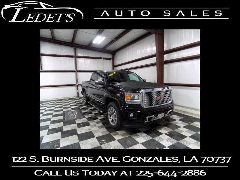 2015 GMC Sierra 1500 Denali - Ledet's Auto Sales Gonzales_state_zip in Gonzales Louisiana