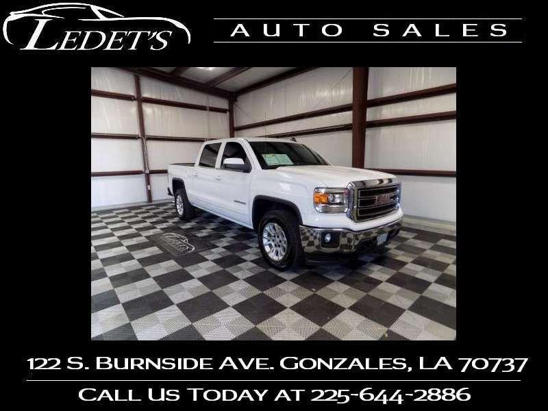2015 GMC Sierra 1500 SLE - Ledet's Auto Sales Gonzales_state_zip in Gonzales Louisiana