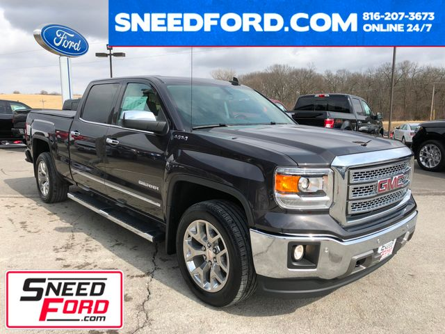 2015 GMC Sierra 1500 SLT 4X4 in Gower Missouri, 64454