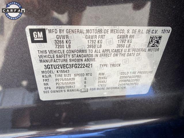 2015 GMC Sierra 1500 SLT Madison, NC 45