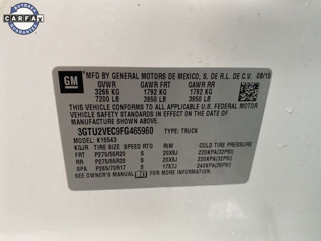 2015 GMC Sierra 1500 SLT Madison, NC 53