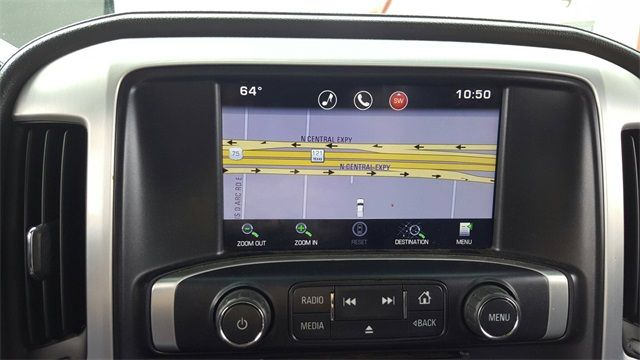 2015 GMC Sierra 1500 SLT LIFT/CUSTOM WHEELS AND TIRES in McKinney, Texas 75070