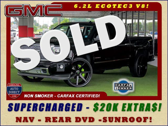 2015 GMC Sierra 1500 Denali Crew Cab RWD - SUPERCHARGED - $20K EXTRA$! Mooresville , NC 0