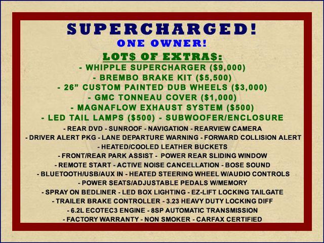 2015 GMC Sierra 1500 Denali Crew Cab RWD - SUPERCHARGED - $20K EXTRA$! Mooresville , NC 1