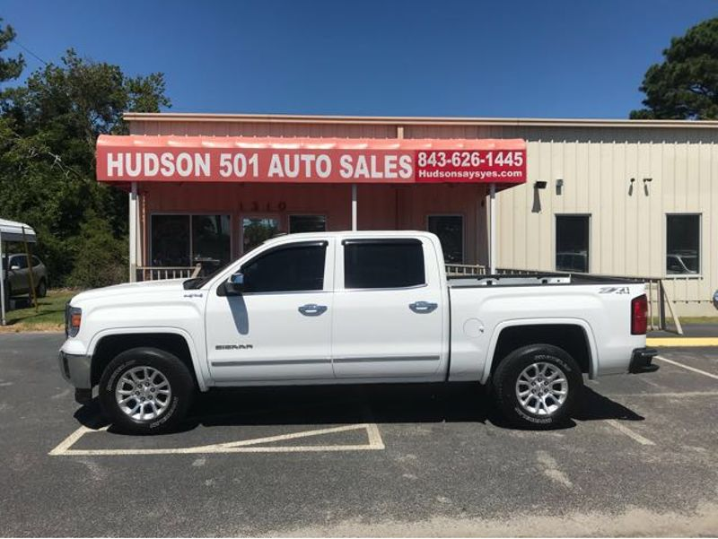 2015 GMC Sierra 1500 SLT | Myrtle Beach, South Carolina | Hudson Auto Sales in Myrtle Beach South Carolina