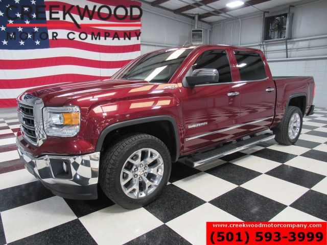 2015 GMC Sierra 1500 SLT 4x4 Z71 6.2L V8 Leather Nav Chrome 20s CLEAN in Searcy, AR 72143