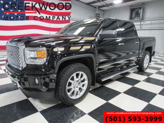 2015 GMC Sierra 1500 Denali 4x4 6.2L Black Chrome 20s Nav Sunroof CLEAN in Searcy, AR 72143