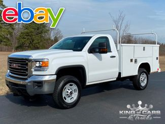 2015 Gmc Sierra 2500hd 4x4 REG CAB W/T READING UTILITY 1-OWNER ONLY 61K MILE WOW in Woodbury, New Jersey 08096