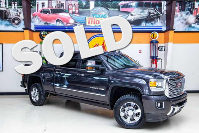 2015 GMC Sierra 2500HD Denali DRW 4x4 in Addison, Texas 75001