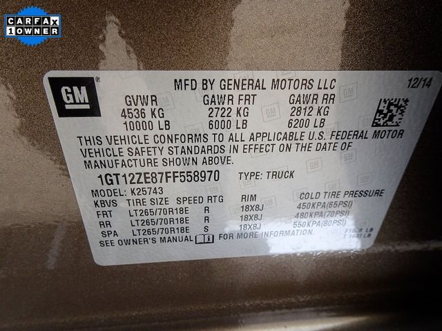 2015 GMC Sierra 2500HD available WiFi SLT Madison, NC 55