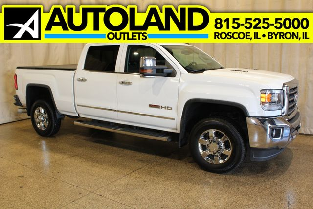 2015 GMC Sierra 2500HD Diesel 4x4 Crew Cab All Terrain Package