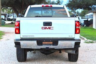 2015 GMC Sierra 2500 HD SLE Crew Cab 4X4 Z71 6.6L Duramax Diesel Allison Auto Sealy, Texas 9