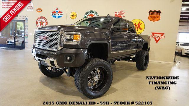 2015 GMC Sierra 2500HD Denali 4X4 DIESEL,LIFTED,NAV,A/F 24'S,59K in Carrollton, TX 75006