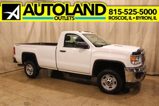 2015 GMC Sierra 2500HD diesel 4x4 long bed 2500 in Roscoe, IL 61073