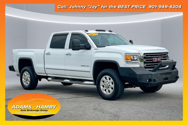 2015 GMC Sierra 2500HD SLT Z71 4WD Off Road Package with 6.0L V8