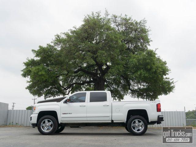2015 GMC Sierra 2500HD Crew Cab SLT 6.6L Duramax Turbo Diesel 4X4 in San Antonio, Texas 78217