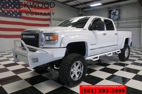 2015 GMC Sierra 2500HD SLT Z71 4x4 Diesel Lifted Chrome 20s Leather Nav in Searcy, AR