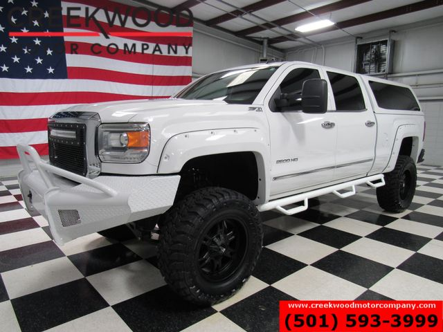 2015 GMC Sierra 2500HD SLT Z71 4x4 Diesel Lifted Shell 20s Nav New Tires