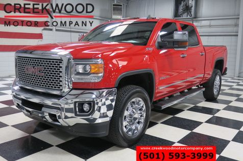 2015 GMC Sierra 2500HD SLT 4x4 Diesel Allison Red Chrome 20s Nav Sunroof in Searcy, AR