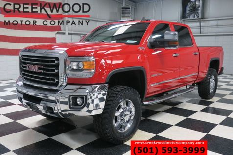 2015 GMC Sierra 2500HD SLT 4x4 Diesel Red 35s Chrome 18s Leveled Nav NICE in Searcy, AR