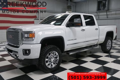 2015 GMC Sierra 2500HD Denali 4x4 Diesel White Nav Chrome 20s New Tires in Searcy, AR