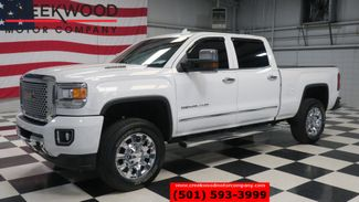 2015 GMC Sierra 2500HD Denali 4x4 Diesel White Chrome 20s Nav Low Miles in Searcy, AR 72143