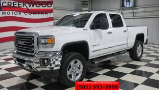 2015 GMC Sierra 2500HD SLT 4x4 Diesel White 1 Owner New Tires Chrome 20s in Searcy, AR 72143