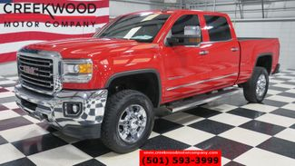 2015 GMC Sierra 2500HD SLT 4x4 Diesel Red Chrome Leather Heated Nav NICE in Searcy, AR 72143