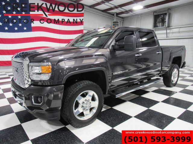 2015 GMC Sierra 2500HD Denali 4x4 Diesel 1 Owner Low Miles Nav Roof 20s in Searcy, AR 72143