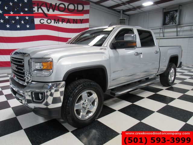 2015 GMC Sierra 2500HD SLT 4x4 Z71 Diesel 1 Owner Nav Chrome 20s NewTires in Searcy, AR 72143